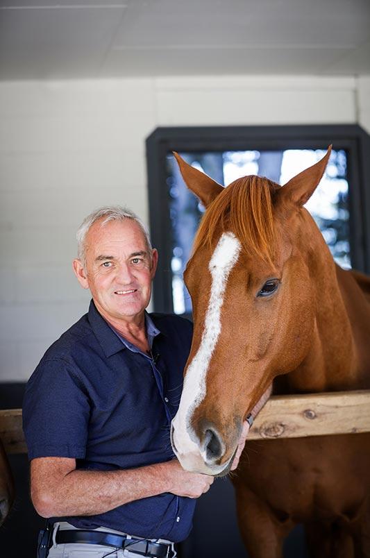 Australian equitation scientist Dr Andrew McLean